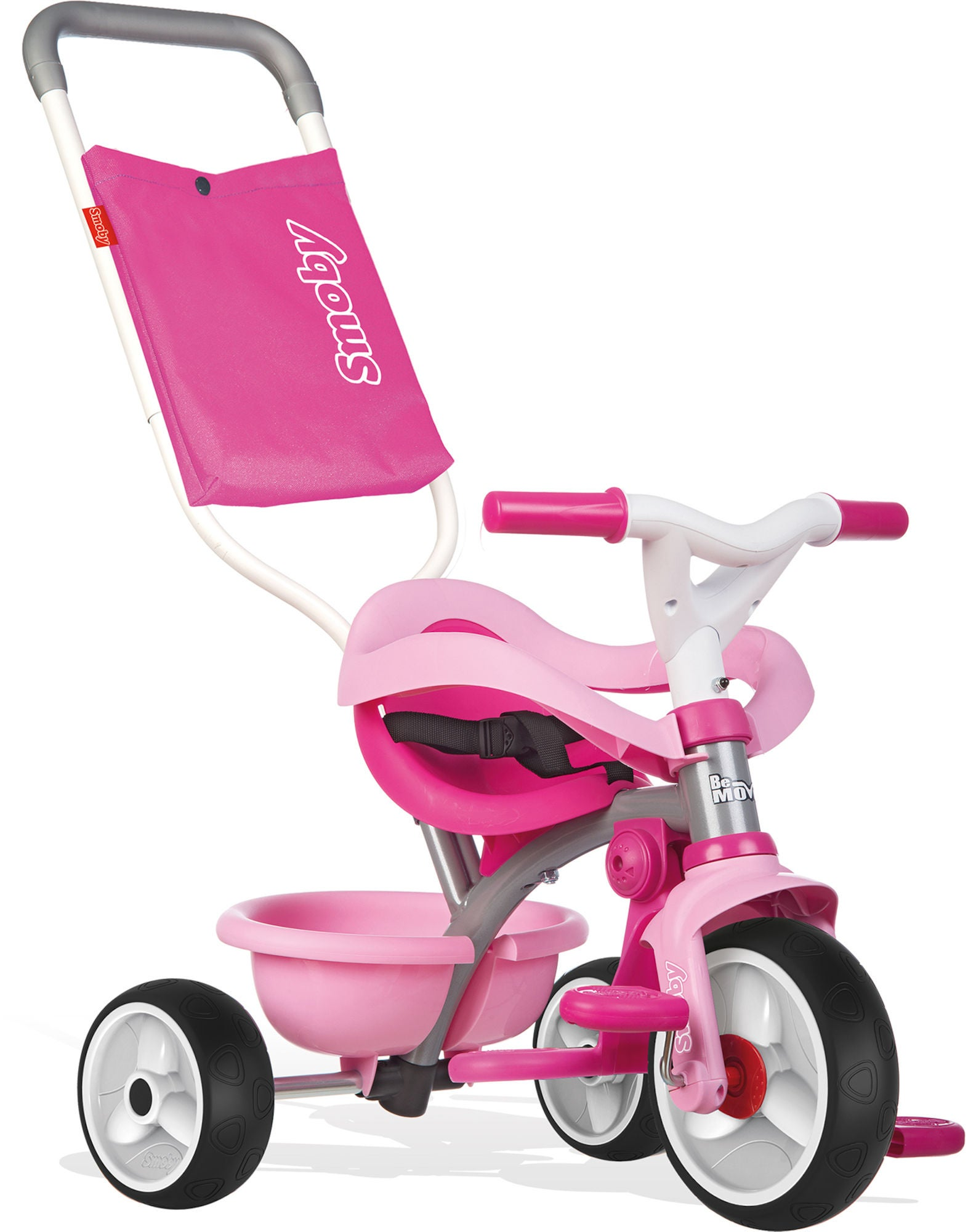 Smoby Be Move Trehjuling Comfort, Rosa