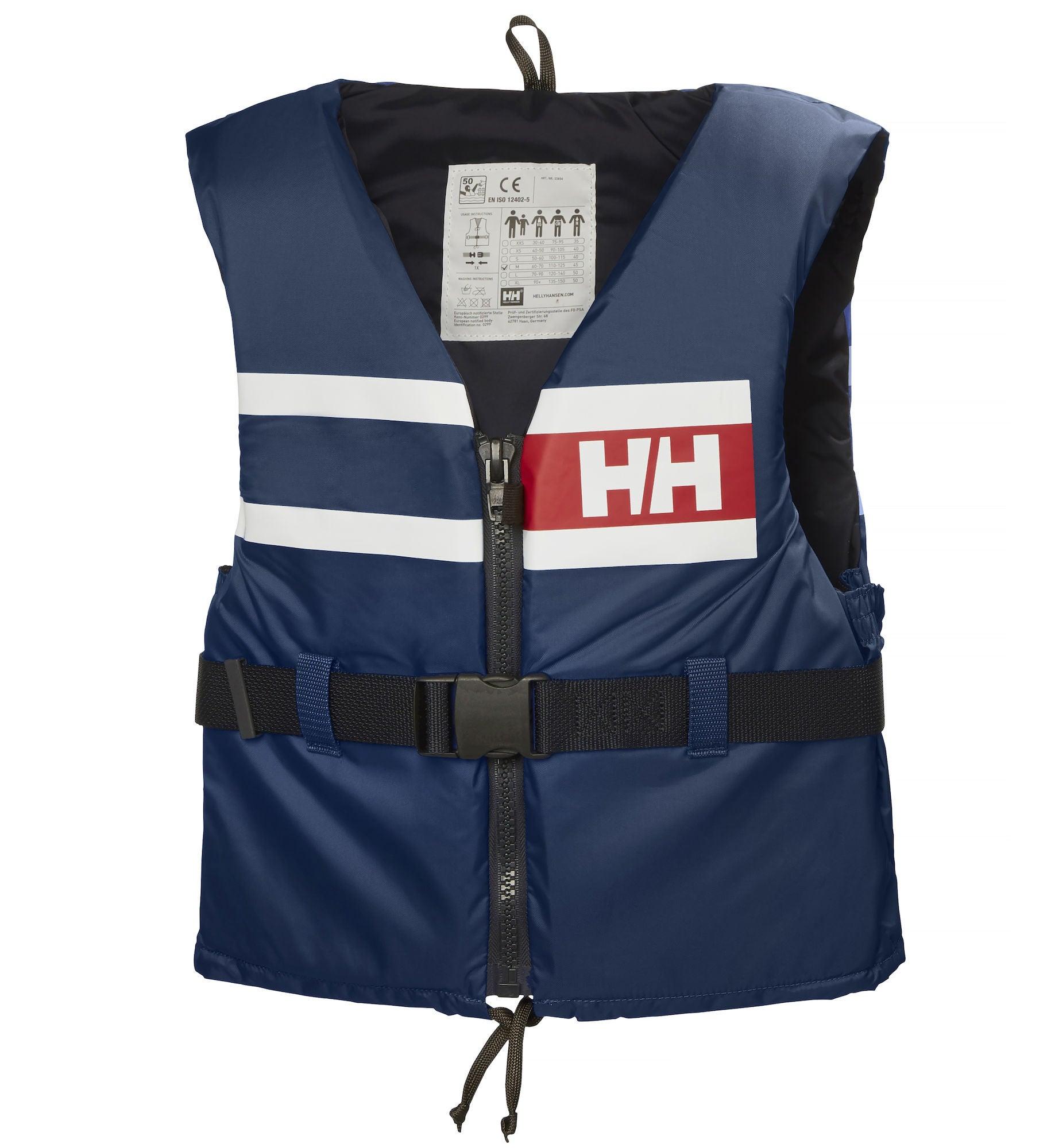 Helly Hansen Flytväst Sport Comfort, Blå 60-70 kg