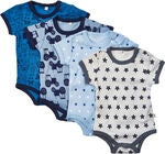 Pippi Body 4-pack, Blue