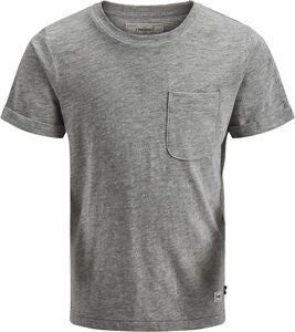 PRODUKT Slub Crew T-Shirt, Light Grey Melange