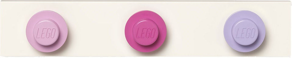 LEGO Klädhängare, Light Pink/Dark Pink/Light Purple