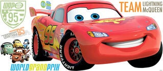 RoomMates Wallsticker Disney Cars 2