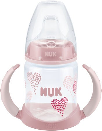NUK Drickpipsflaska First Choice 150 ml, Rosa