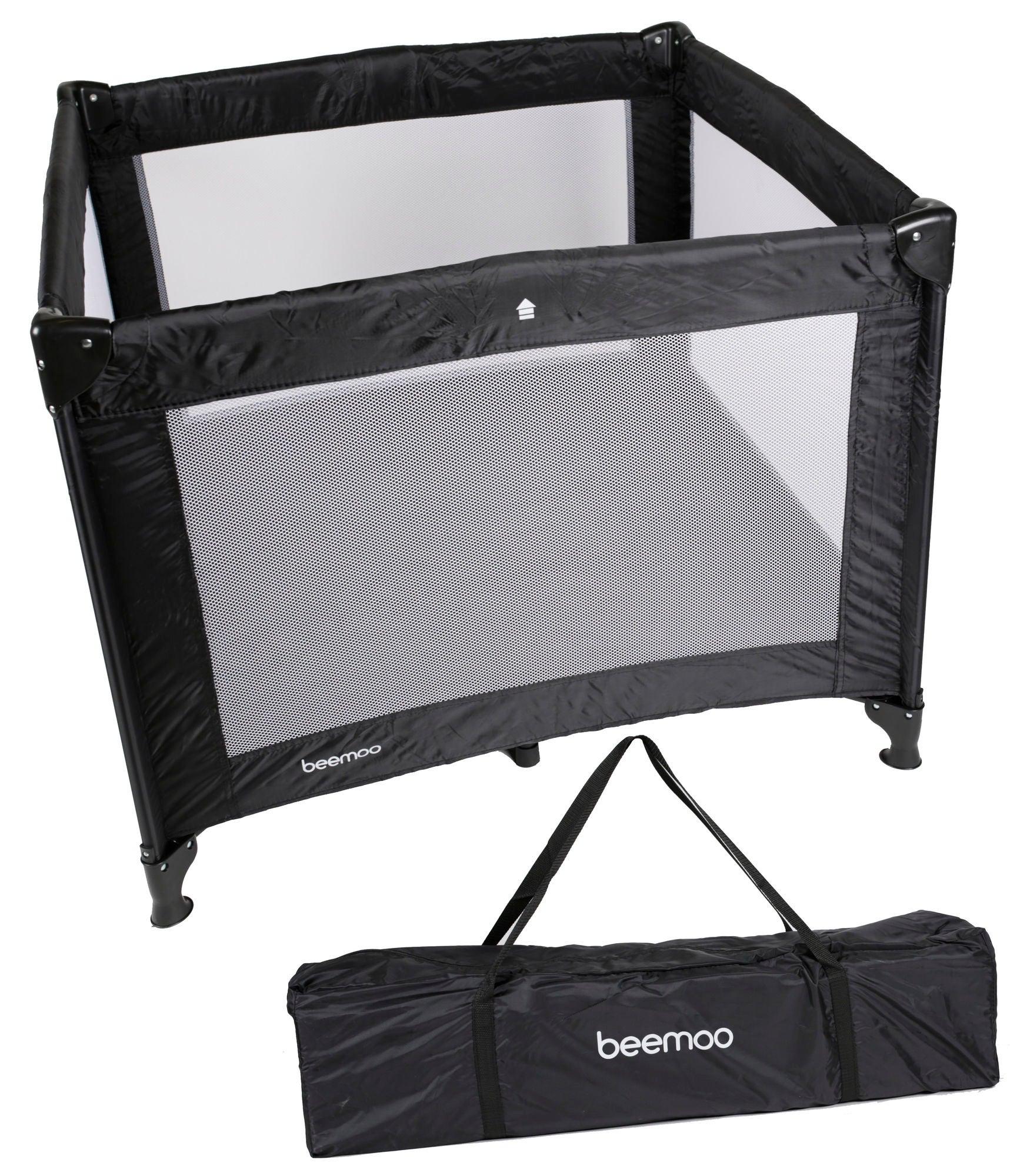 Beemoo Lekhage Svart 90x90cm