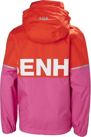 Helly Hansen Block It Regnjacka, Cherry Tomato