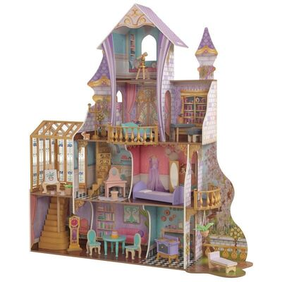 KidKraft Dockhus Enchanted Greenhouse Castle