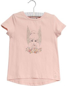 Wheat Disney Tinker Bell Golden Wings T-Shirt, Powder