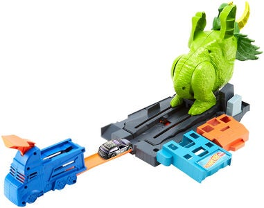 Hot Wheels Lekset City Smashin' Triceratops
