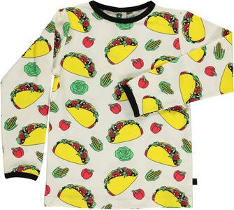 Småfolk Taco T-Shirt, Cream