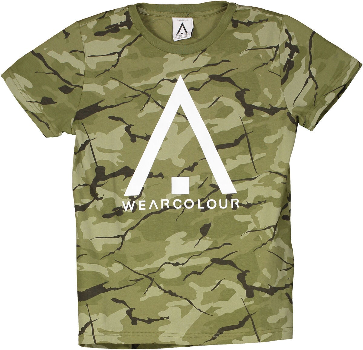 Wearcolour Patch T-Shirt, Forest