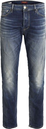 Jack & Jones Liam 182 Jeans, Blue Denim