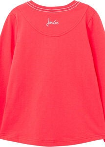 Tom Joule Ava T-shirt, Red Hearts