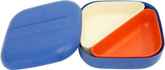 Ekobo Go Square Bento Matlåda, Royal Blue