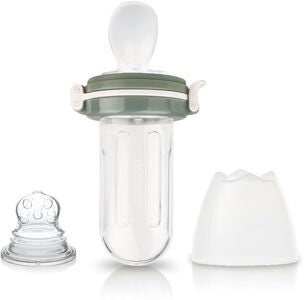 Kidsme Food Squeezer med sked, Grey