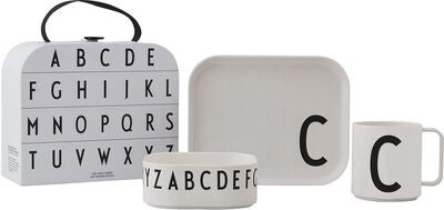 Design Letters Tritan Tableware Giftbox C