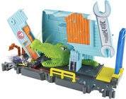 Hot Wheels City Gator Garage Attack Lekset