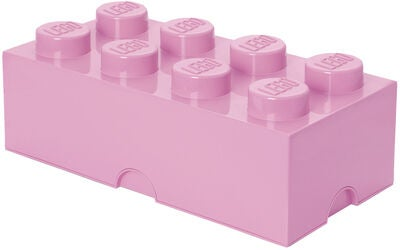 LEGO Förvaring 8 Design Collection, Pink