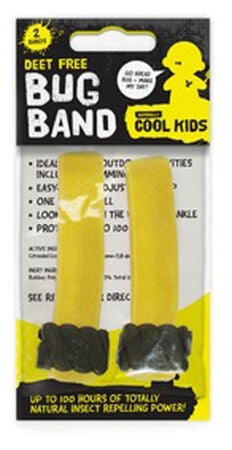 Naturally Cool Kids Insektsband 2-pack Gul