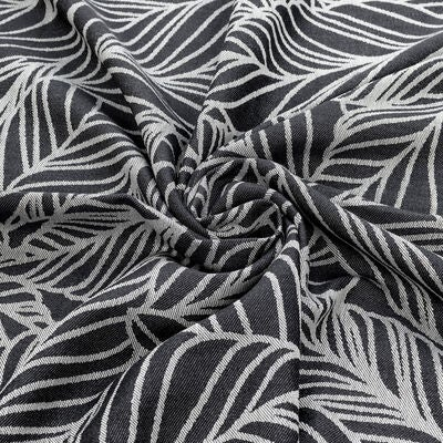 Fidella Baby Wrap Bärsjal Size 6 Dancing Leaves, Black&White