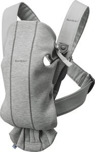 BabyBjörn Bärsele Mini 3D Jersey, Light Grey
