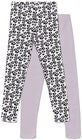 Luca & Lola Venetia Leggings 2-pack, Purple/White