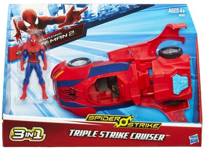 Marvel Spider-Man Electro-Tech 3-i-1