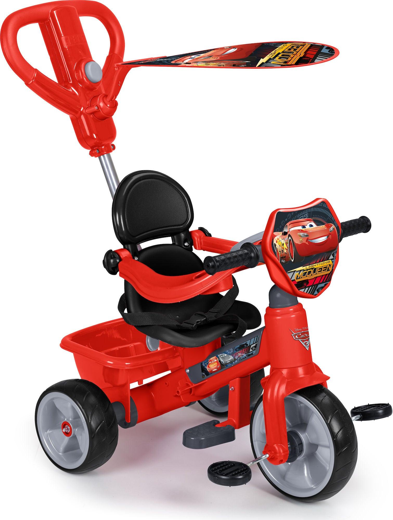 Disney Cars Trehjuling, Röd