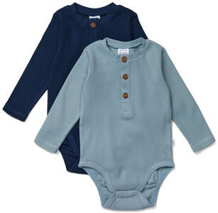 Luca & Lola Roberto Body 2-pack, Navy
