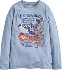 Tom Joule Jack Applique Långärmad T-Shirt, Blue Deep Sea