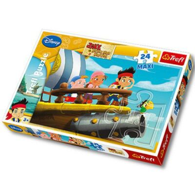 Disney Jake & Piraterna Pussel Maxi 24 bitar