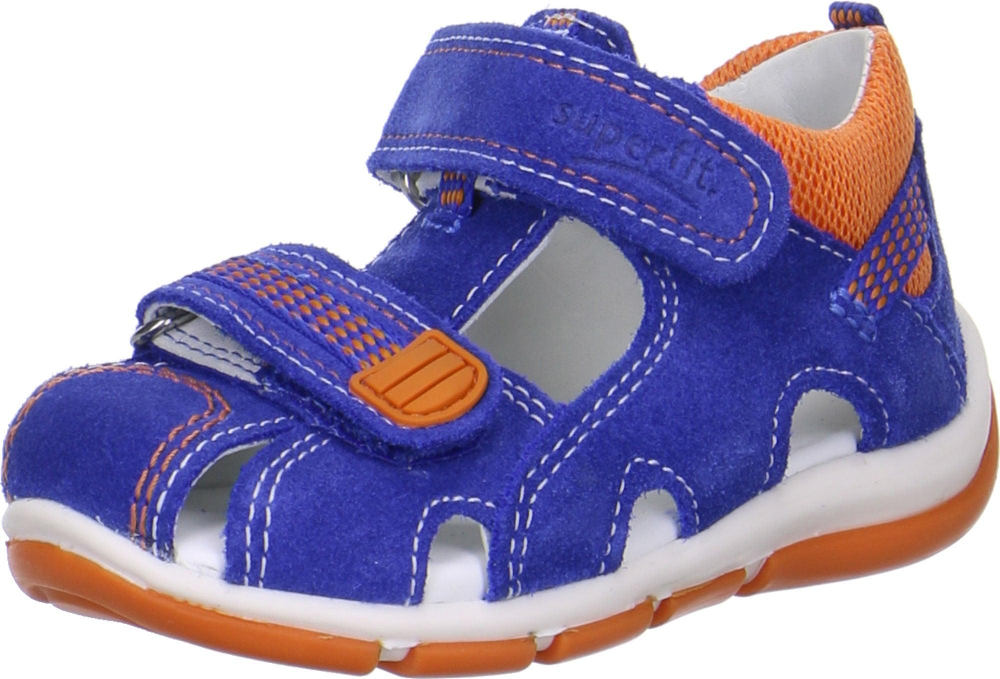 sandals Sandalen superfit boys sandal Freddy blue orange