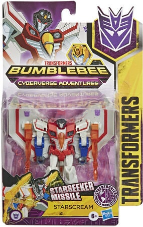 Transformers Cyberverse Warrior Figur Starscream