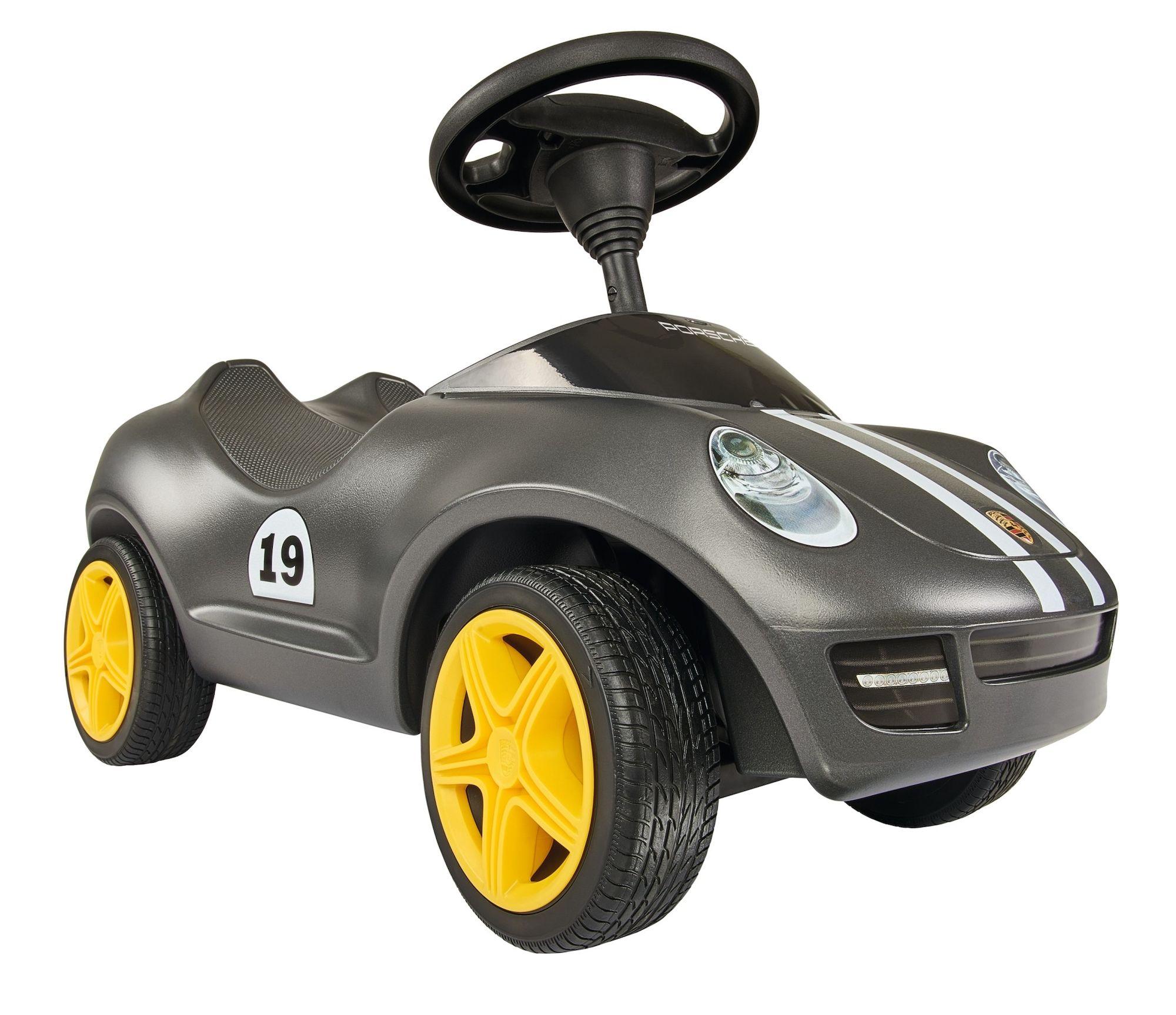 BIG Bobby Car Porsche, Svart
