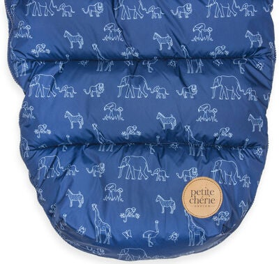 Petite Chérie Åkpåse Animal Midnight Blue