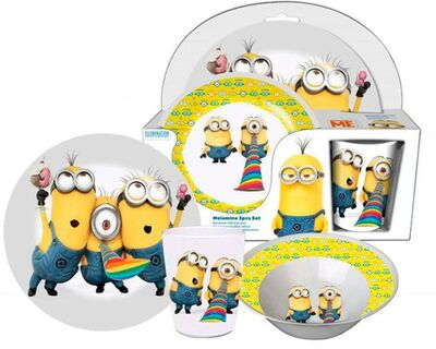 Minions Melaminset Party