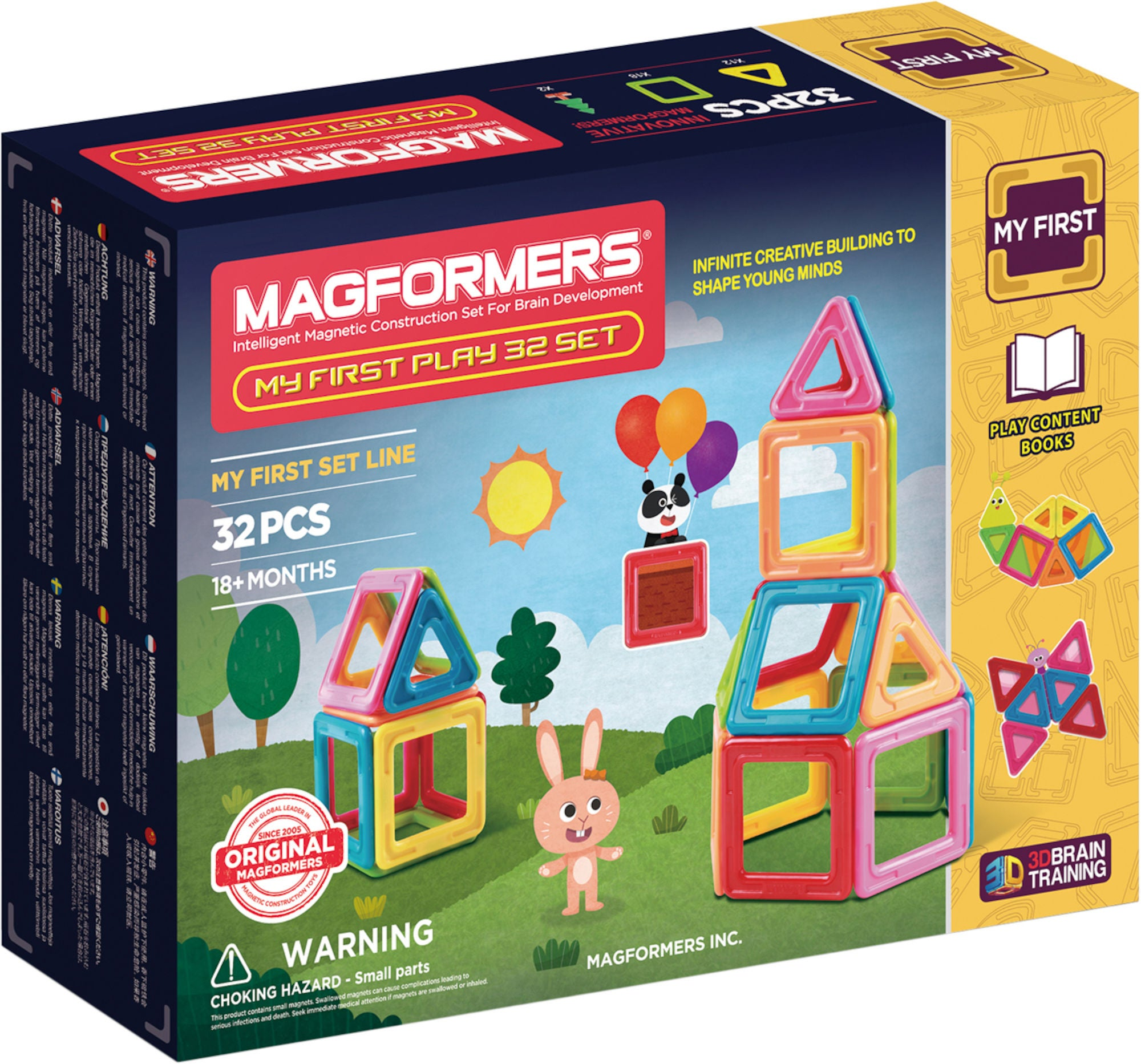 Magformers Byggsats My First Play 32 Delar