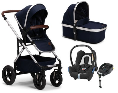 Petite Chérie Excellence 2, Navy Melange + Maxi Cosi Travelsystem