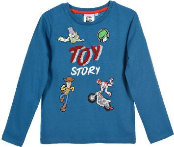 Disney Pixar Toy Story T-Shirt, Turkos