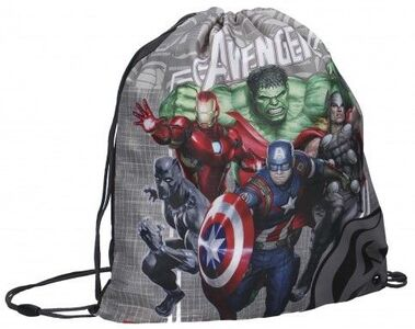 Marvel Avengers Amazing Team Gympapåse, Grey