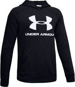 Under Armour Rival Logo Hoodie, Black