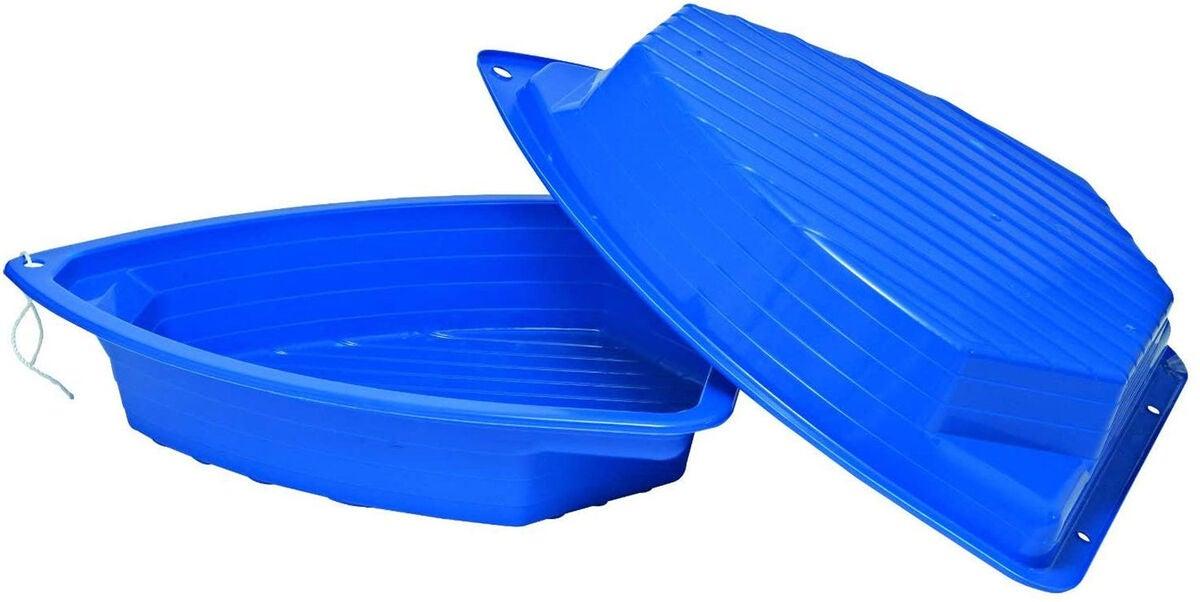 sandlåda i plast båt