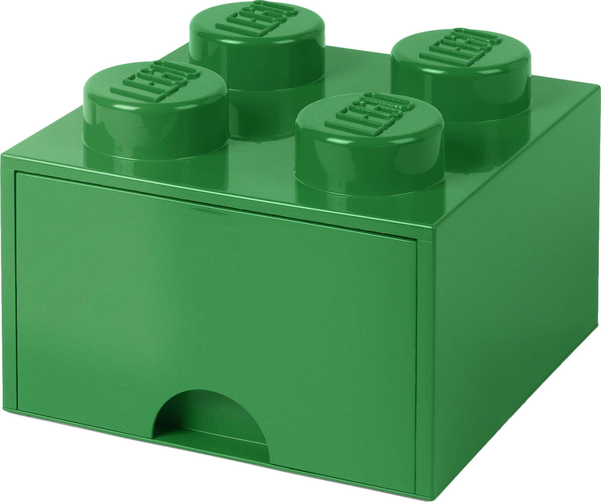LEGO Förvaring med låda 4, Grön
