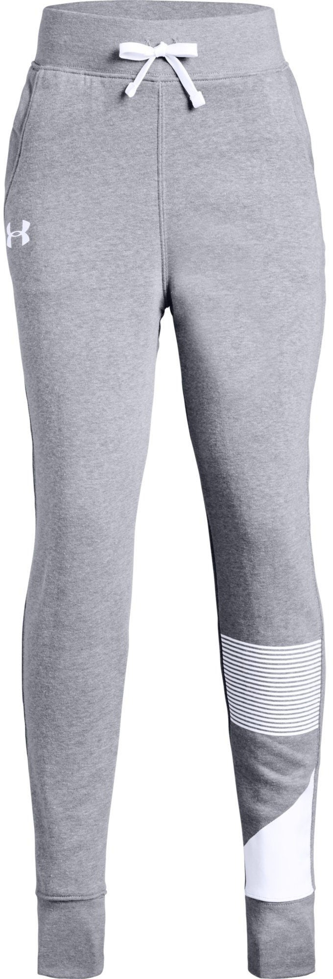 Under Armour Rival Jogger Byxor, Steel XS