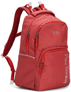 Pure Norway Free Waterproof Ryggsäck, Röd