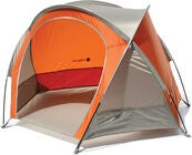 Lifeventure Compact UV-tält, Orange/Grey