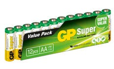 GP Batterier AA LR6 Super 12-pack