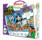 The Learning Journey Pussel Doubles Piratskepp Glow In The Dark