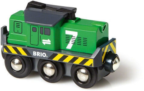 BRIO World 33214 Batteridrivet Godslok