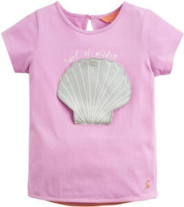 Tom Joule Applique T-Shirt, Mauve Shell