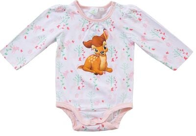 Disney Bambi Body, White/Coral